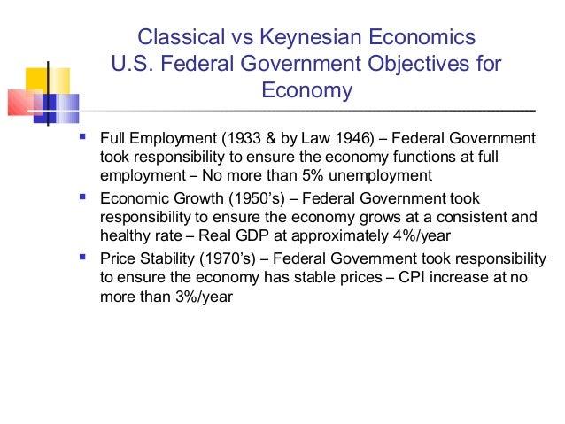 classical vs keynsian economics essay