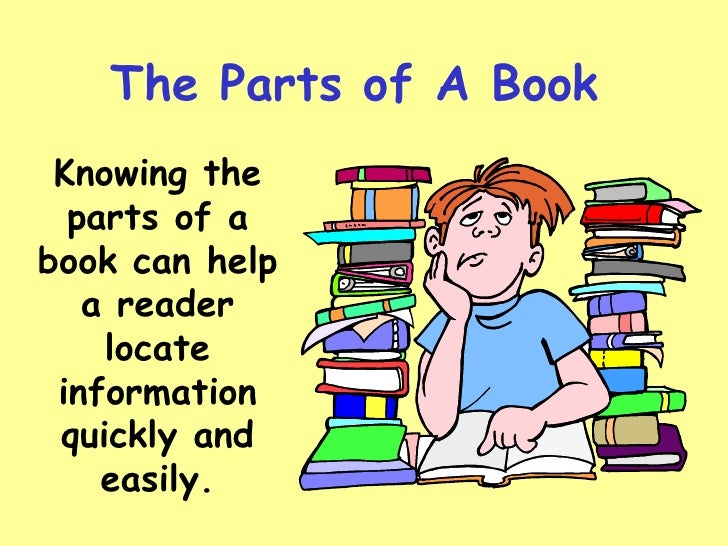 3rd Parts Of A Book Part 2
