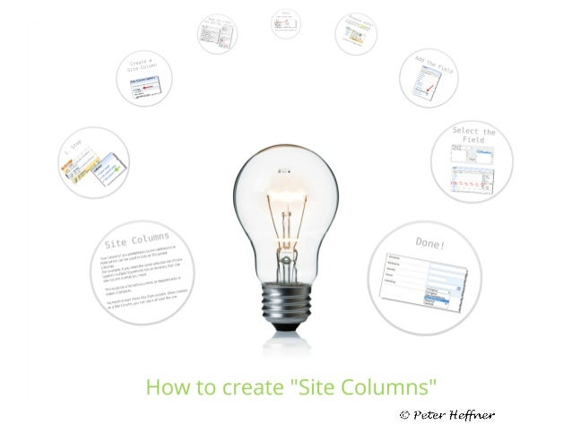 SharePoint Lesson #3: How to use Site Columns
