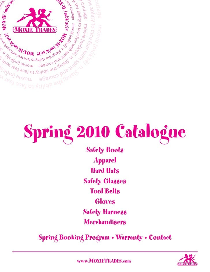 3 Sales Kit Catalogue Spring 2010