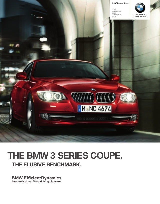 2012 - 3 series coupes