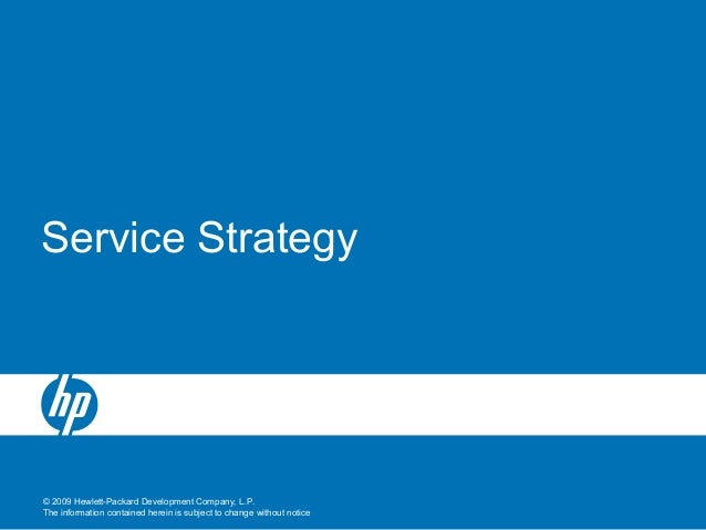 3 service strategy