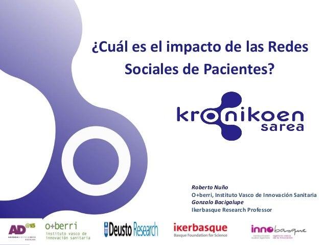 3ª sesión Aprende a Cuidarte: ¿Cual es el impacto de las Redes Sociales de Pacientes?