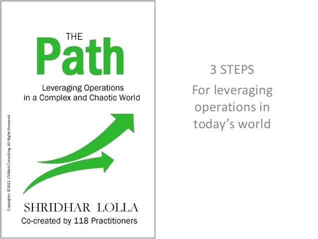 3 steps to leveraging operations