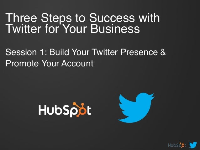 Build Your Twitter Presence and Promote Your Account