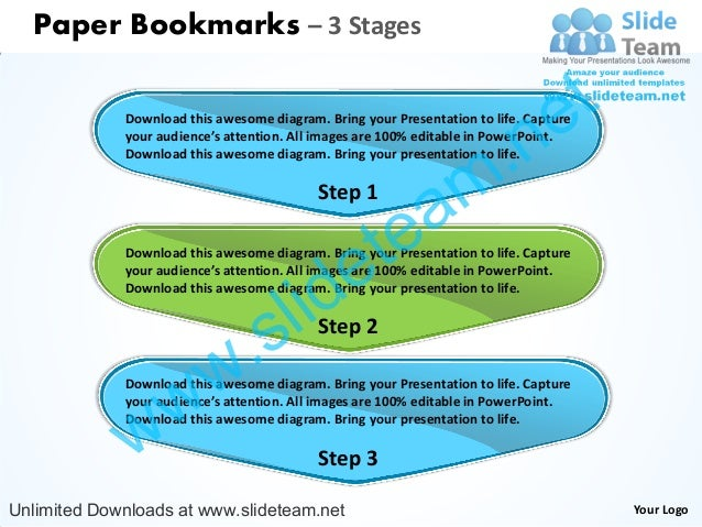 Paper Bookmarks – 3 Stages                                                                                 e t            ...