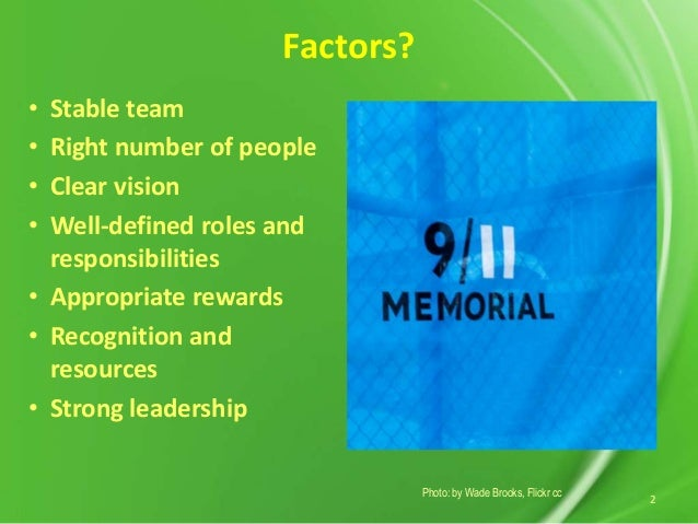 factors for effective teamwork essay Teamwork essay 1 the important thing to recognize is that it takes a team, and the team ought to get credit for the wins and the losses  internal factors.