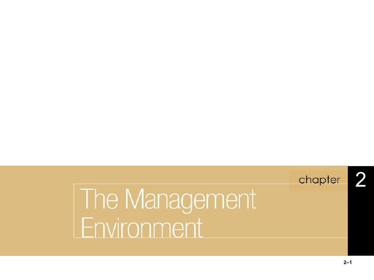 3 the management_environment-chapther2