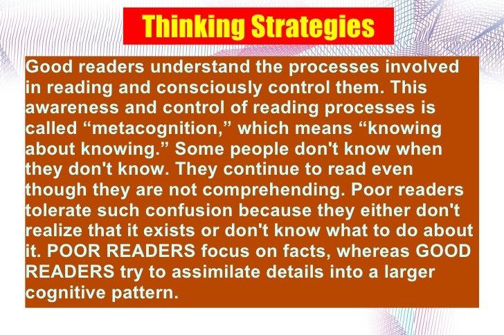3 Thinking Strategies