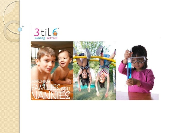 3til6 is a Melbourne based nanny service specialising in providing in-homeafter school care for pre-school toddlers, schoo...