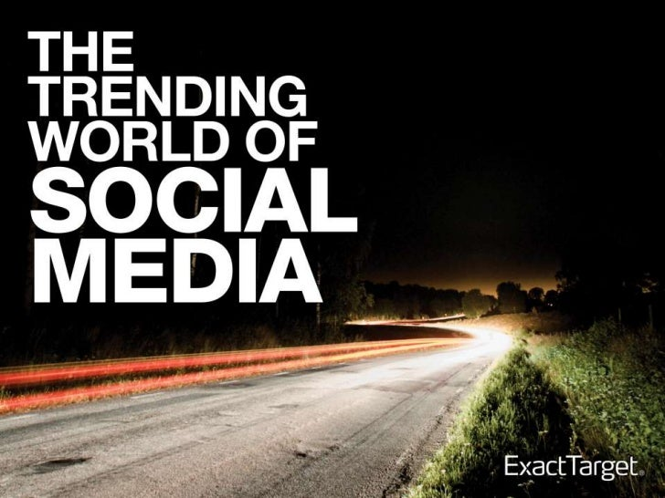 3 Marketing Trends Changing Because of Social Media