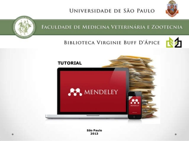 Tutorial Mendeley - Parte 3: Conhecendo o Mendeley Desktop