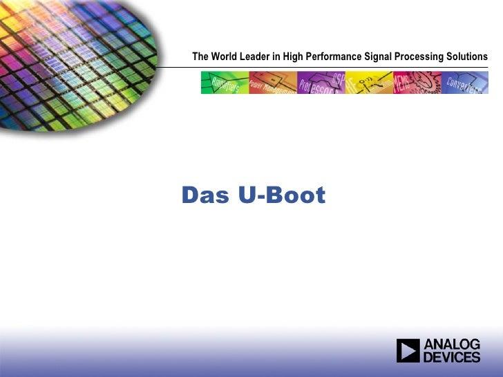 U Boot or Universal Bootloader