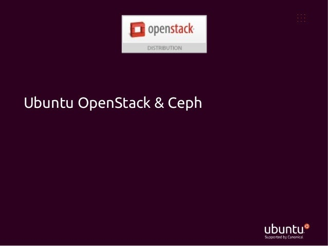 3 ubuntu open_stack_ceph