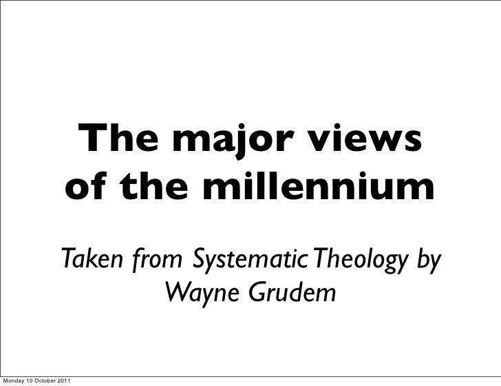 3 views of the millennium