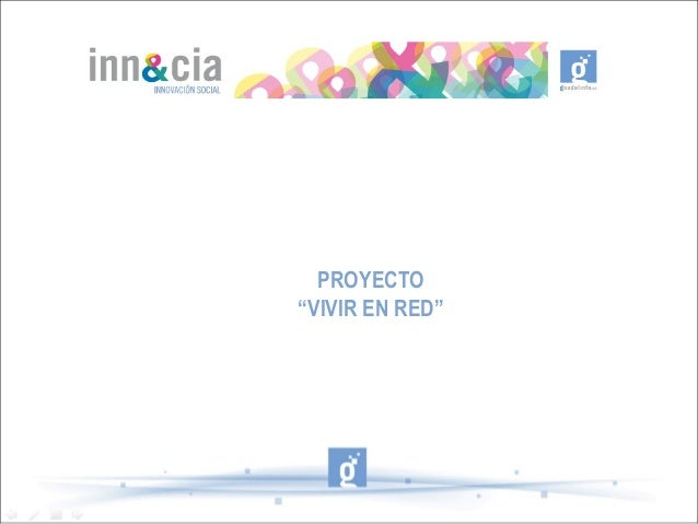 """PROYECTO""""VIVIR EN RED"""""""