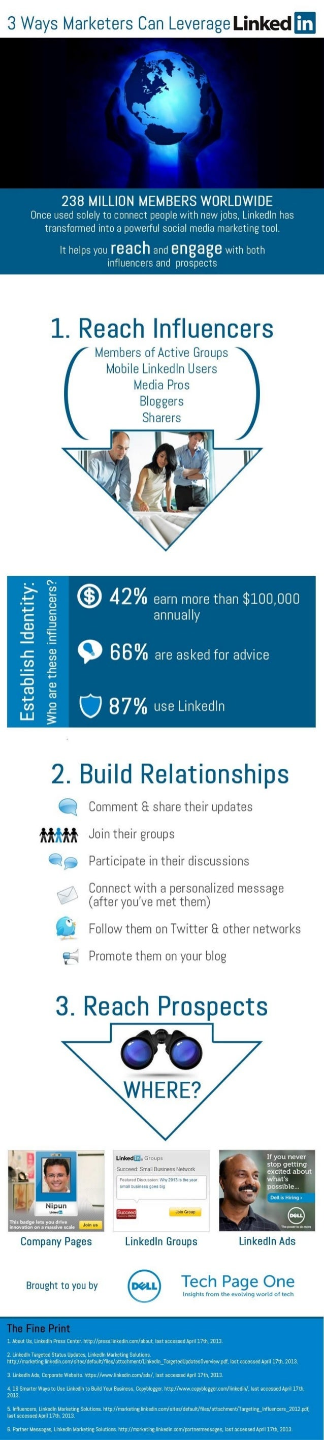 3 Ways Marketers Can Leverage LinkedIn