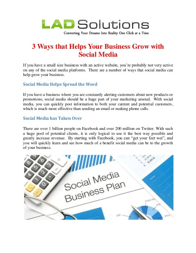 Social Media Can Help Your Business in 3 Ways