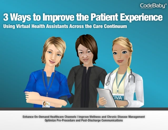 Introduction Intelligent virtual assistants are the key to accelerating your patient-centric initiatives. 3 Ways to Improv...