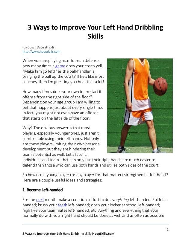 Dribbling Basketball Skills Hand Basketball Dribbling