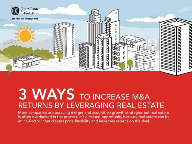 3 ways to increase M&A returns by leveraging real estate