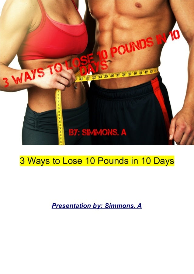 Can you lose 10 pounds in 3 days without eating