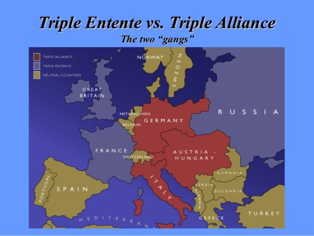 the alliances formed before the start of world war i Serbia did it evidence 1 on june 28 this video will explain to you how world war 1 started before world war 1, the following alliances existed: russia and.