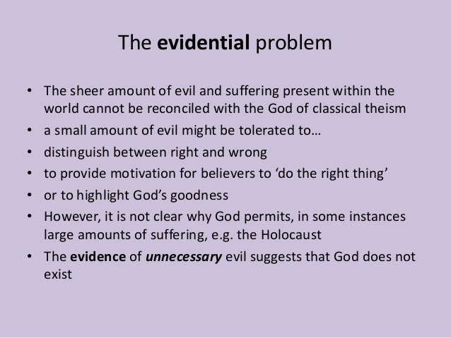 What is the problem of evil? ?