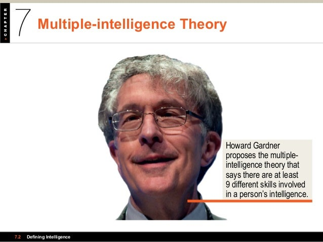 spearman vs gardner Studying intelligence: biological vs  in this lesson, you will meet charles  spearman and learn about his general factor theory of intelligence and some of  his other accomplishments  by observing and measuring intelligence in a  systematic way, spearman believed,  what is gardner's theory of multiple  intelligences.