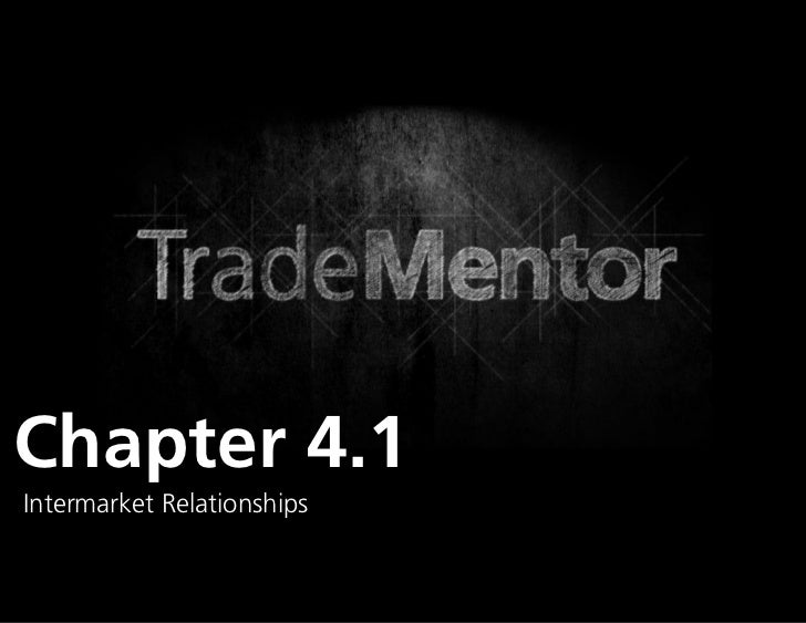 1Chapter 4.1Intermarket Relationships                            0