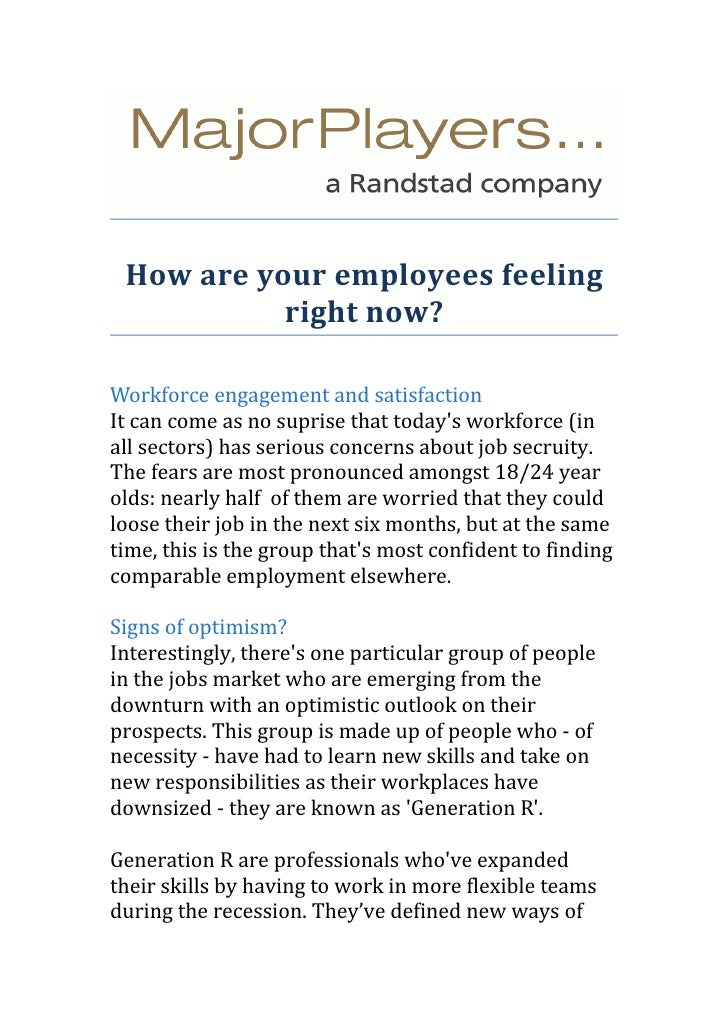 How are your employees feeling right now?