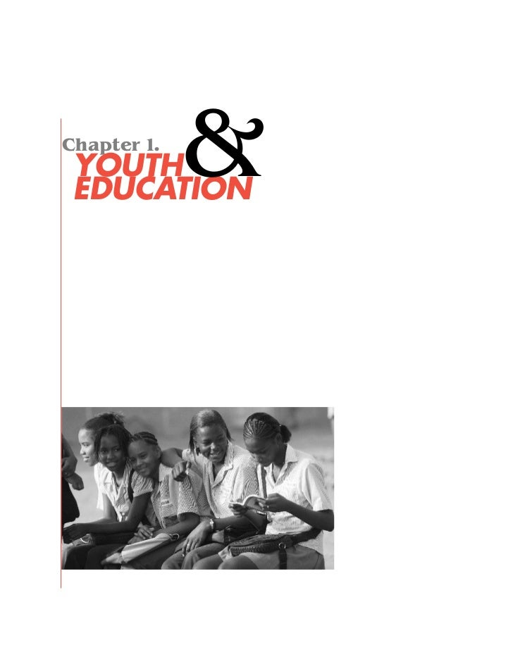 Chapter 1. YOUTH EDUCATION             &