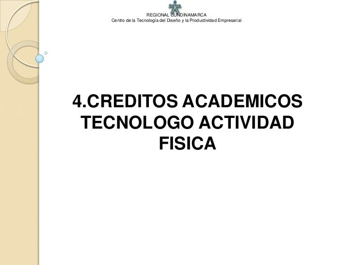 4.CREDITOS ACADEMICOS