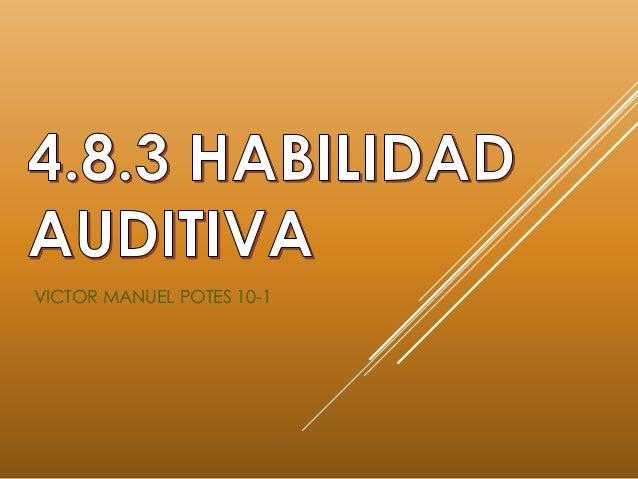 VICTOR MANUEL POTES 10-1