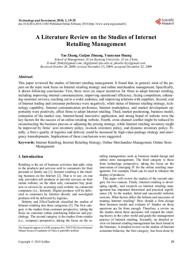 19  Technology and Investment, 2010, 1, 19-25 doi:10.4236/ti.2010.11003 Published Online February 2010 (http://www.scirp.o...