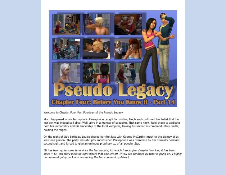 The Pseudo Legacy - Chapter Four, Part 14