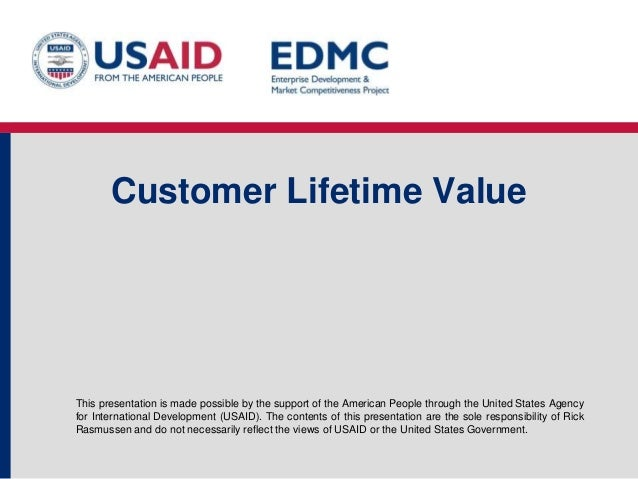 4.6 customer lifetime value