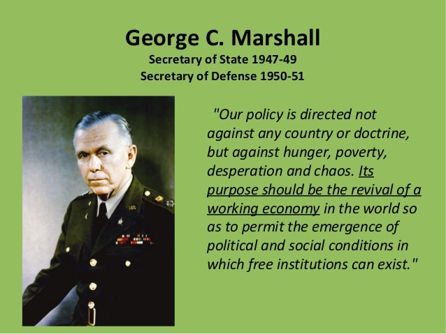 george c marshall essay Category: essays research papers title: george c marshall.