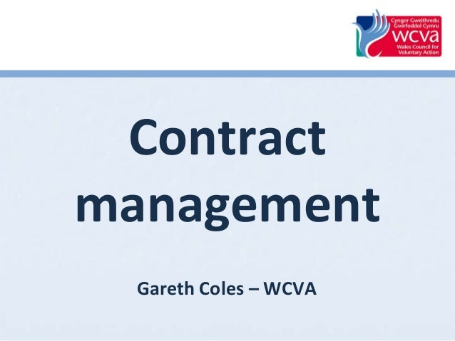 Contract Management - Procurement Mini-Conference 2014