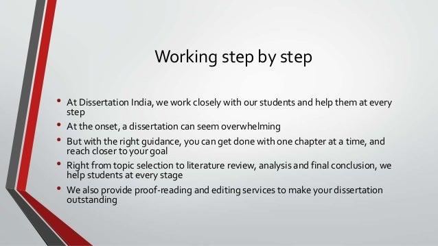 steps dissertation proposal