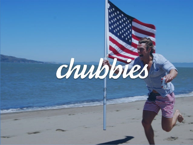 Chubbies Shorts @ Hustle Con - Brand Lovegasm