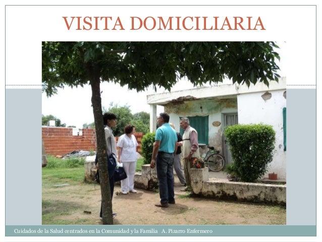 de visita domiciliaria:
