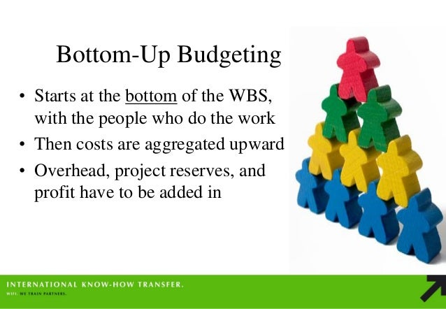 project managment budget bottom up