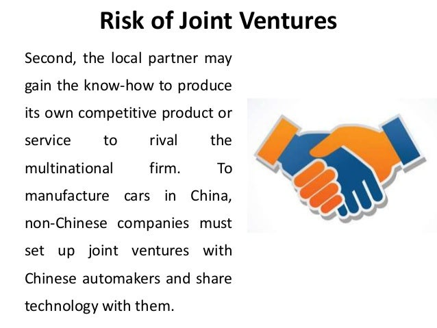 international joint venture essay This essay has been submitted by a law student this is not an example of the work written by our professional essay writers joint ventures in general.
