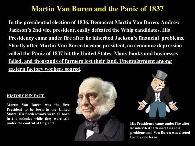 Martin Van Buren jacksonian democracy
