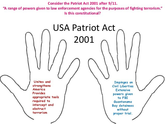 the patriot act pros and cons essays Patriot act pros and cons essays (editing an essay powerpoint) patriot act pros and cons essays (editing an essay powerpoint) 12th apr 2018 uncategorized.