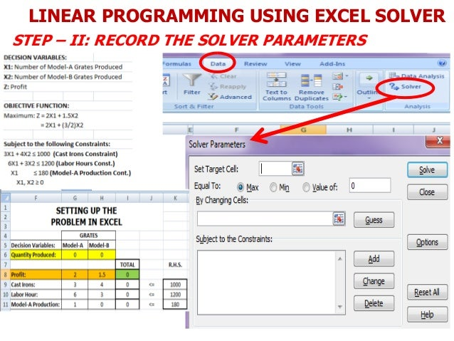 excel solver constraints binary options