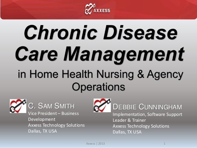 4 18-2013 chicago-chronic disease management