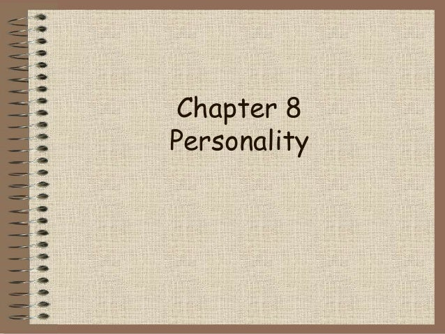Chapter 8Personality