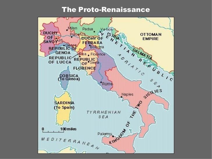 The Proto-Renaissance